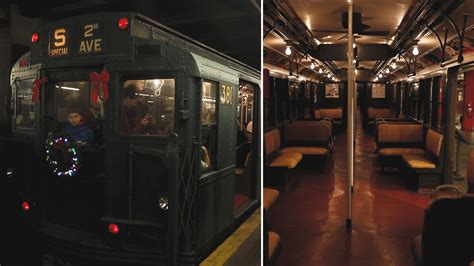 Holiday Nostalgia Rides are back on the F train rolling