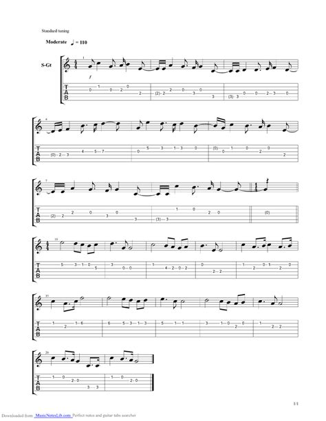 Russian National Anthem guitar pro tab by Misc Traditional