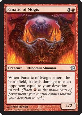 Fanatic of Mogis from Theros Spoiler