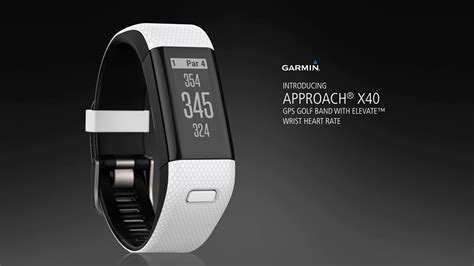 Approach X40: The GPS Golf Band for Everyday Wear - YouTube