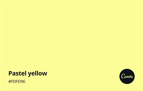 Pastel Yellow Meaning, Combinations and Hex Code - Canva