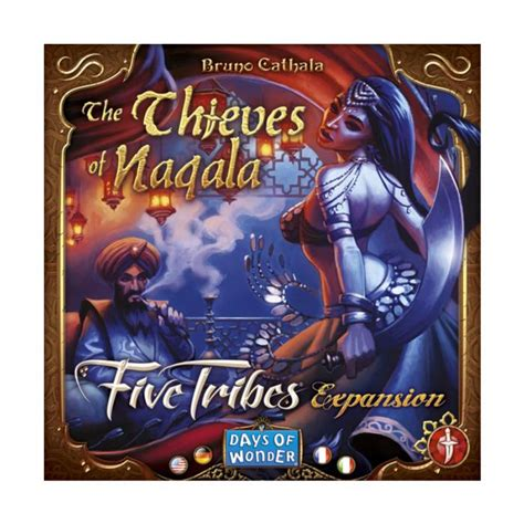 Five Tribes: The Thieves of Naqala (Exp