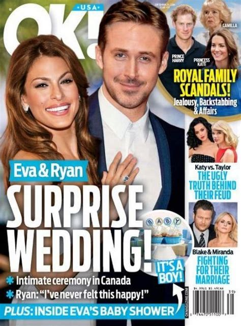 Ryan Gosling and Eva Mendes: Wedding on the Way? - The