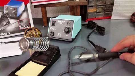 Review of the Weller WES51 Soldering Iron - YouTube