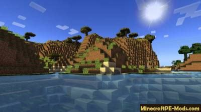 Realistic Shaders For Minecraft PE iOS/Android 1