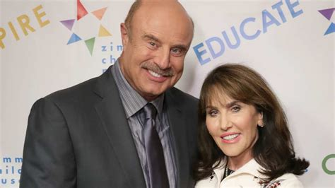 Dr phil and his wife getting a divorce