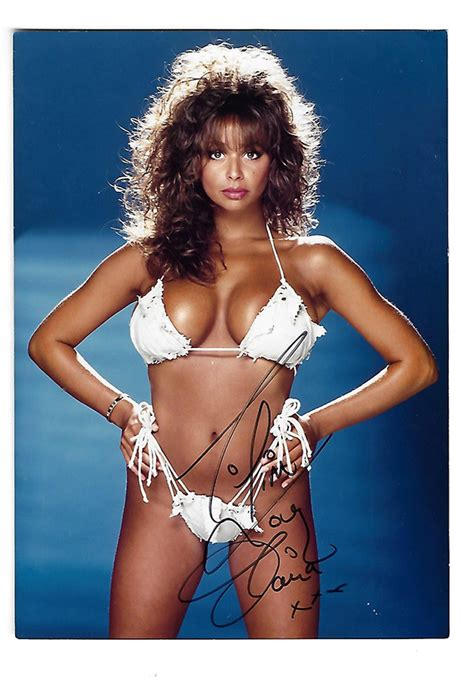 Maria Whittaker Page 3 Girl Signed Photograph