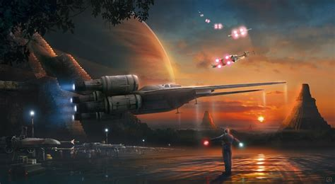 Akirant Dawn of Rebellion From Star Wars Giclee On Canvas