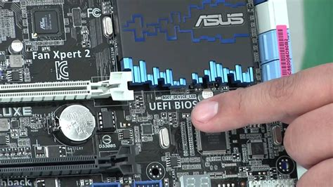 ASUS P8Z77-V Deluxe Motherboard Hands-on Review - YouTube
