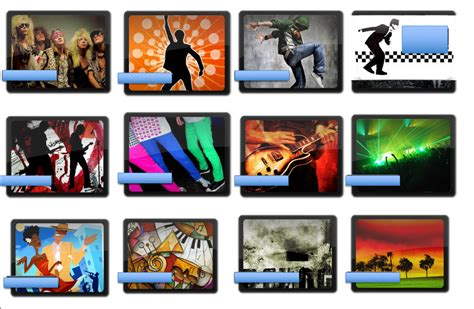 9 Music Genre Mood Board - Ms P & Ms T Photography
