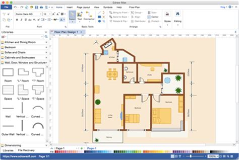 What would you recommend as a free 2D floor-plan
