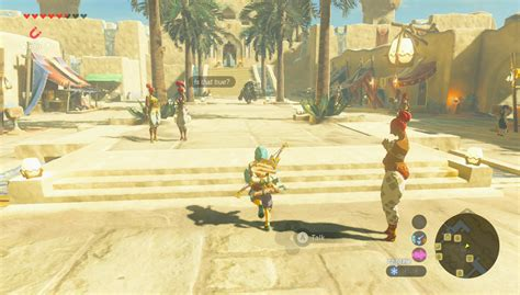 Gerudo Town 'Breath of the Wild': How To Get Into City And