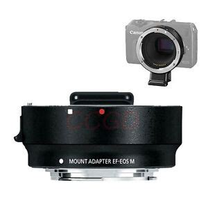Metal EF-EOS M Mount Adapter Ring For Canon EF Lens to EF