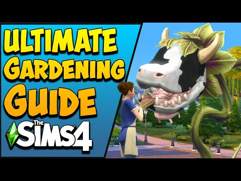 The Sims 4 Gardening Skill & Plant Grafting Combos