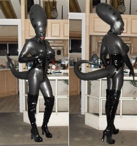 As You Wish, Lord Vader: Latex Storm Trooper Gimp Suit