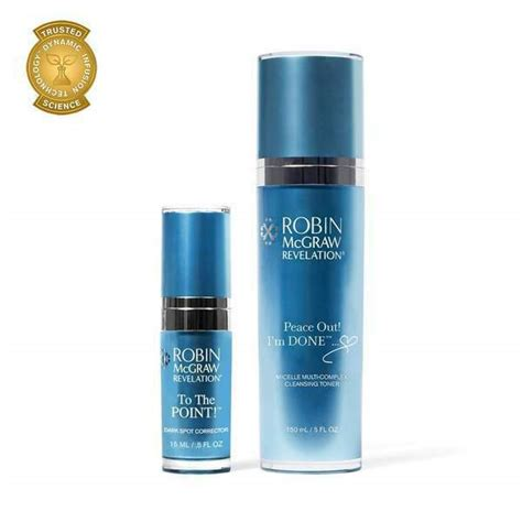 NEW Robin McGraw Revelation Clean & Bright Duo Treatments