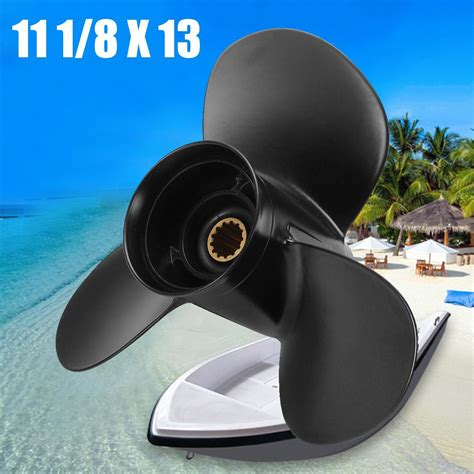 11' pitch Outboard Propeller for Mercury Mariner 25-60 hp