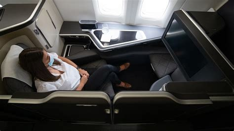 The big picture: British Airways First seat with sliding