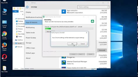 Remove FastCompress-Zip 9 on Windows 10 (Uninstall Guide