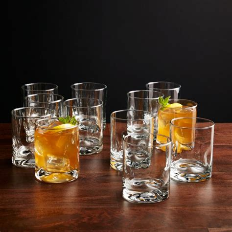 Impressions Double Old-Fashioned Glasses, Set of 12