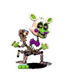 Tangle -FNAF World- (also my account page mascot