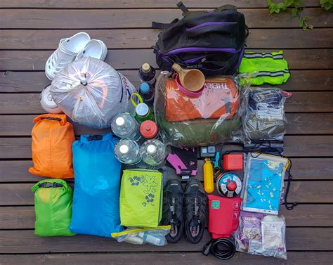 How to Pack Kayak for an Overnight Camping Trip   Packing