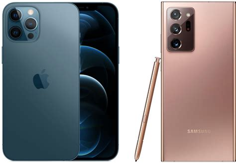 Battle of the flagships: iPhone 12 Pro Max vs Samsung