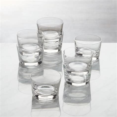 Bitty Bite Short Glasses, Set of 8 + Reviews   Crate and