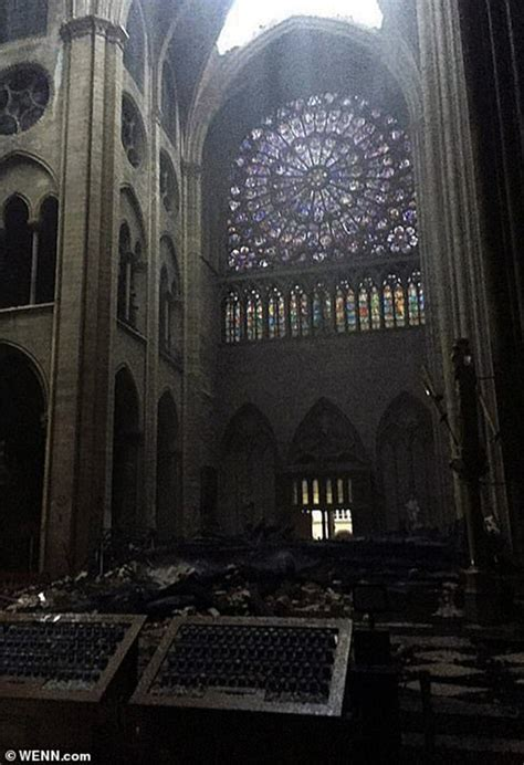 All 3 Irreplaceable Rose Windows Of Notre Dame Have