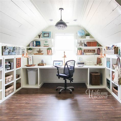 Craft Room Organization In the Attic (With images)   Attic