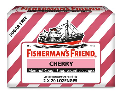 Extra Strong Lozenges for Cough & Sore Throat | Fishermans