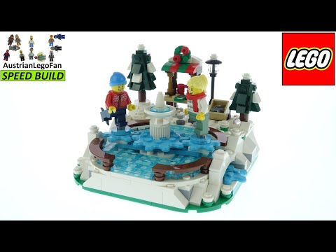 LEGO Ice Skating Rink is December's gift with purchase set