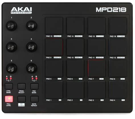 Akai Professional MPD218 Pad Controller | Sweetwater