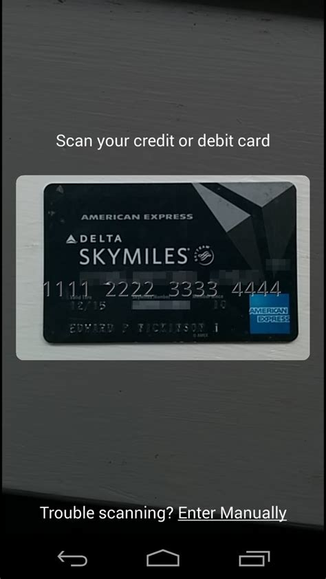 Google Wallet update lets you scan cards to enter them