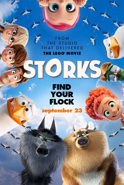 Storks Movie Review ~ In Theaters Now | Pink Ninja Blogger