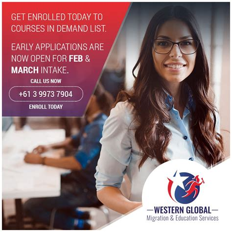 Get enrolled today to courses in demand list