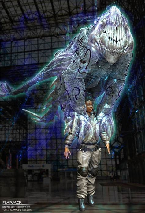 Concept Artist Shares 'Ghostbusters' Designs Not Used in