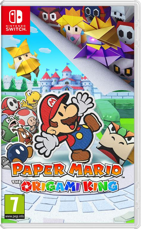 Paper Mario: The Origami King - Videojuego (Switch) - Vandal