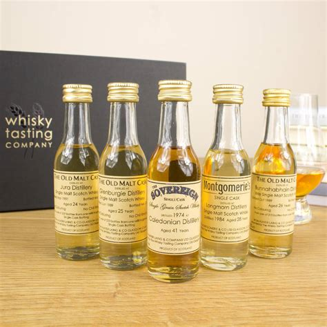 Old And Rare Scotch Whisky Set By Whisky Tasting Company