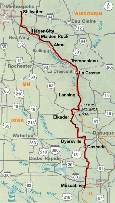 Northern Tier   Adventure Cycling Route Network