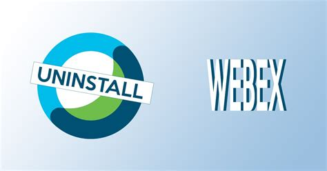 All the possible ways to uninstall Webex conference app
