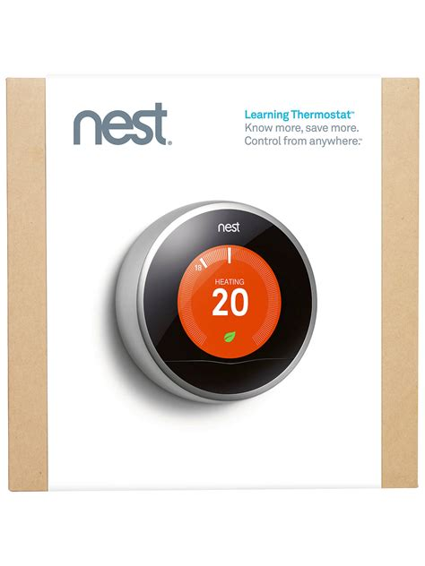 Nest Learning Thermostat, 2nd Generation at John Lewis