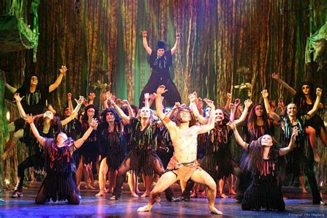 SOUTHSTAGE Blog: Tarzan make-up, costume and set design
