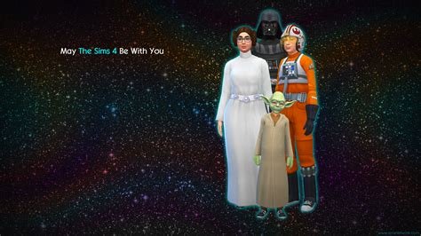 May The Sims 4 Be With You wallpapers | SNW | SimsNetwork