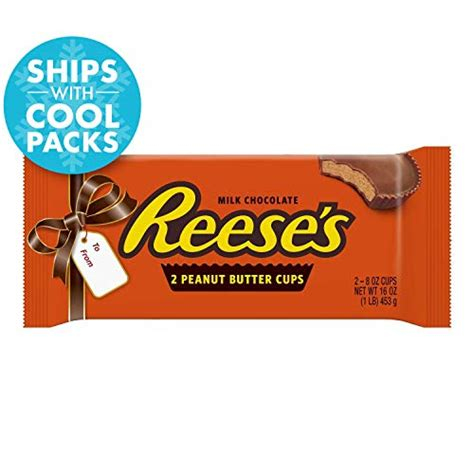 REESE'S 1 Pound, Chocolate Candy, Peanut Butter Cups, 1 LB