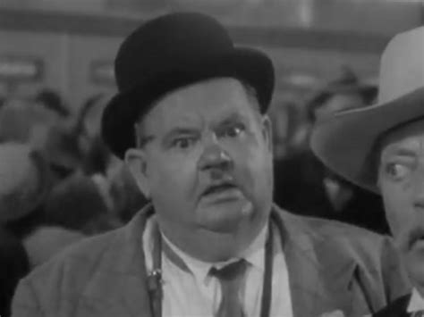 Oliver Hardy in Riding High
