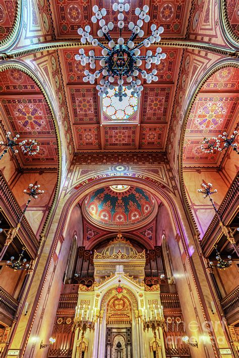 Great Synagogue, Budapest Hungary Photograph by