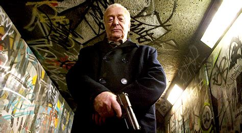 Michael Caine as Gangster-Shooting Vigilante - The New