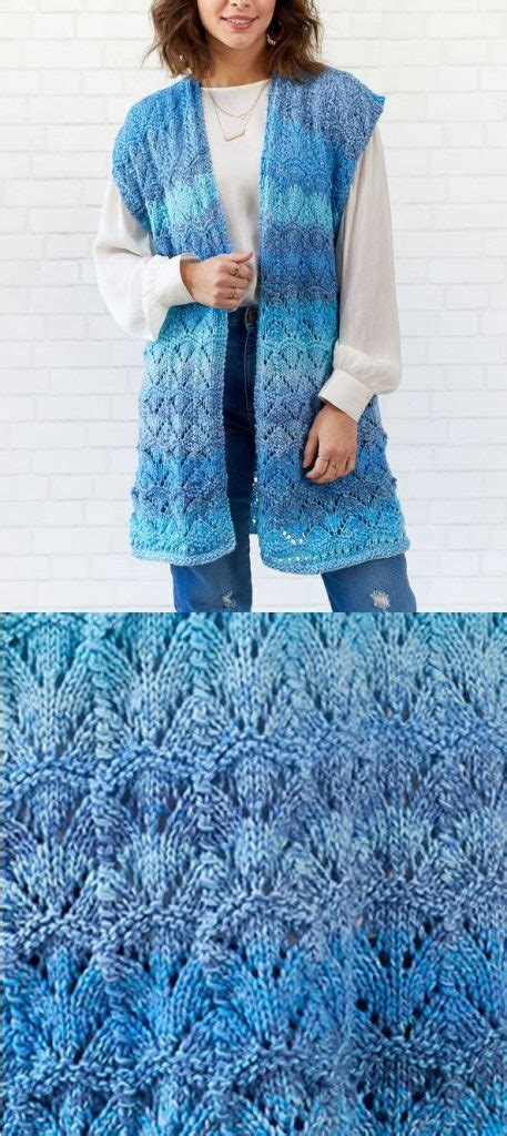 100+ Exciting Free Vest Knitting Patterns for Winter and
