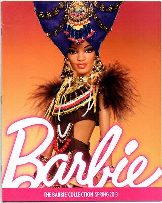 BARBIE COLLECTOR Catalog Collection Book Ad Magazine
